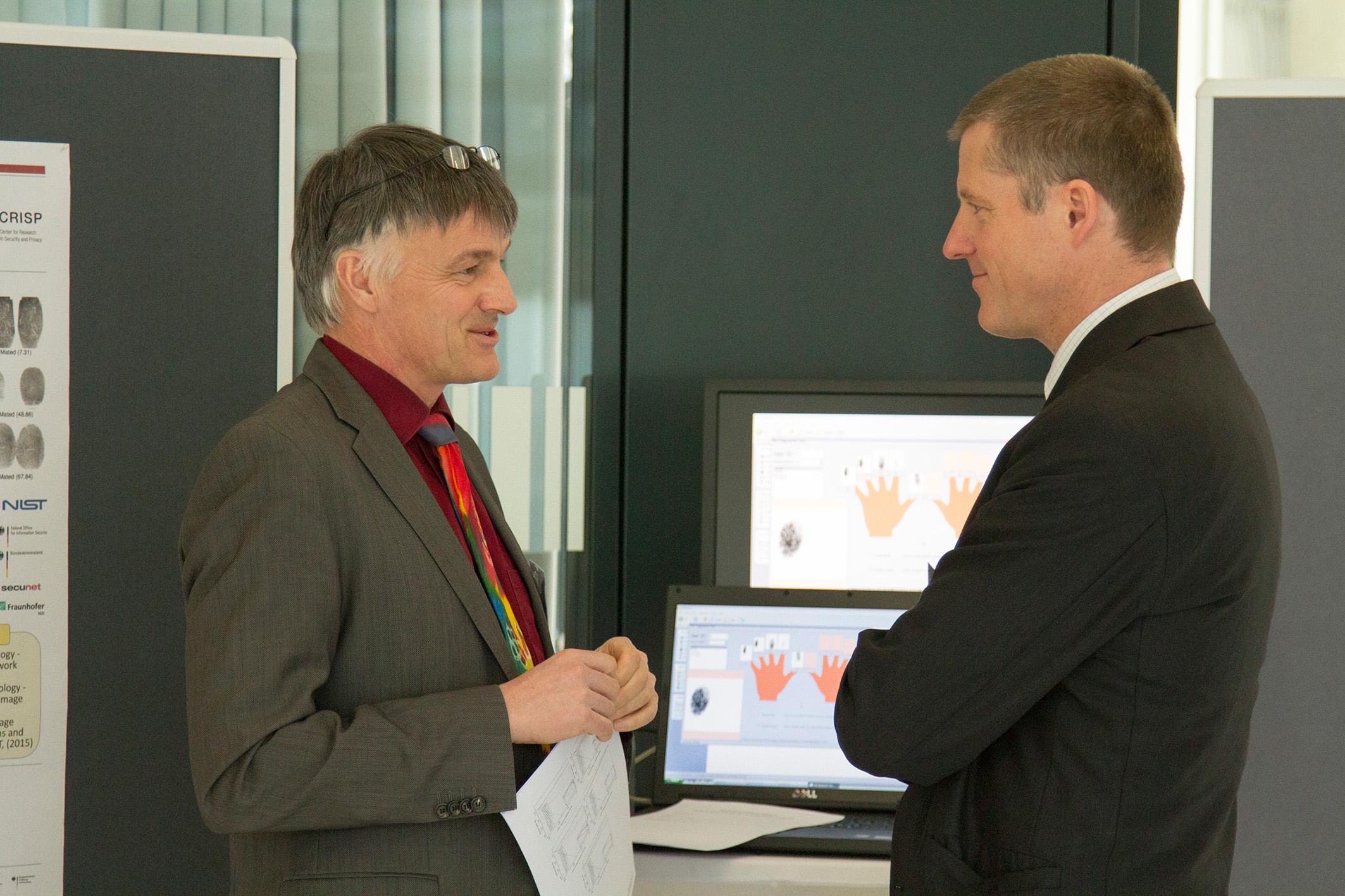 Prof. Busch and Prof. Baier
